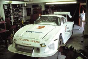 Porsche 930S in 935 race trim for the 24 hrs of Daytona