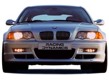 Front Spoiler Racing Dynamics Type R Door Sedan BMW - Bmw 4 door sedan
